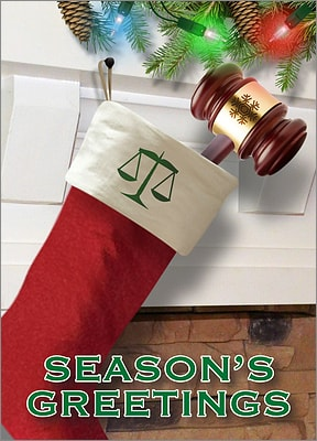 Christmas Card For Attorneys (Glossy White)