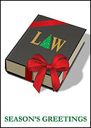 Law Christmas Card